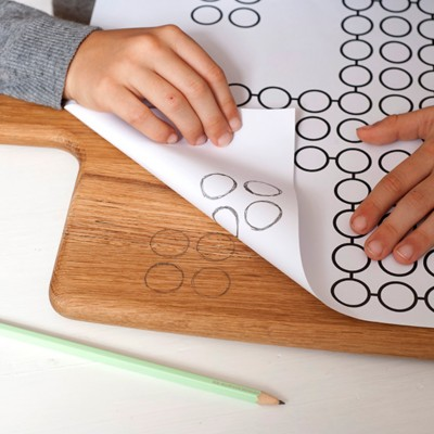 Spielfeld auf das Brett übertragen