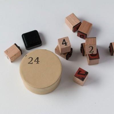 Schachteln nummerieren
