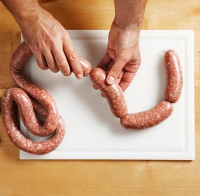 Bratwurst selbst gemacht