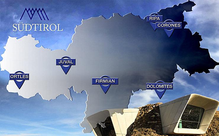 Das Messner Mountain Museum besteht aus sechs Häusern in ganz Südtirol, die allesamt einen unterschiedlichen Schwerpunkt haben.