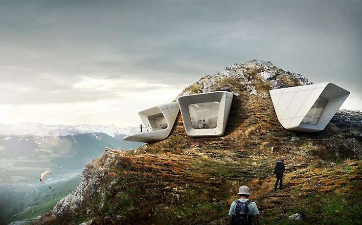 Das MMM Corones von Reinhold Messner, Südtirols höchstes Museum am Kronplatz, ist ein kulturelles und architektonisches Highlight.