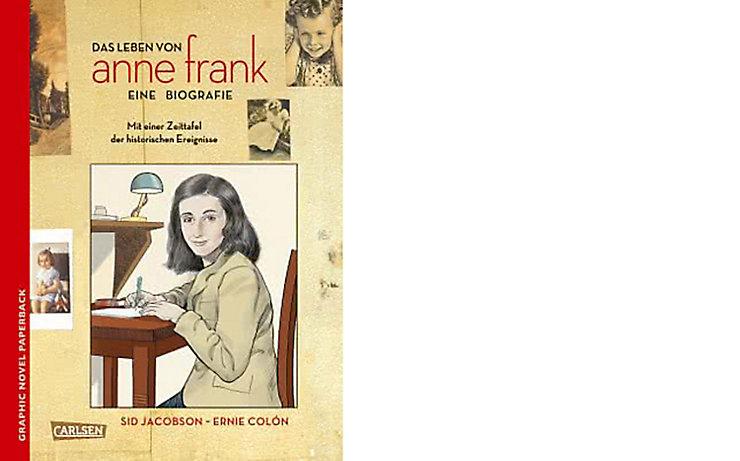Buchcover Das Leben von Anne Frank