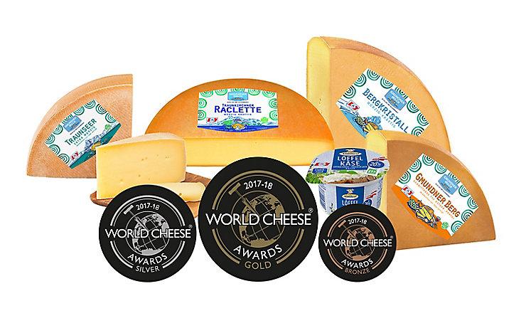 Die Käse-Gewinner