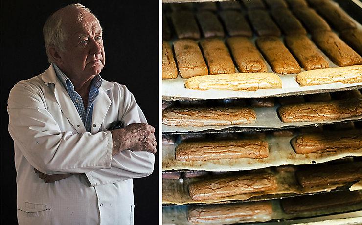Hugo Rubenbauer und sein Lebkuchen