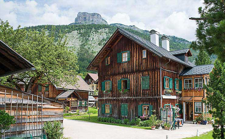 Das Bauerndorf Gößl