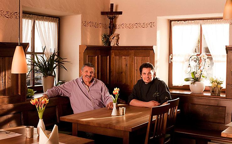 Alexander Huber mit Vater Josef