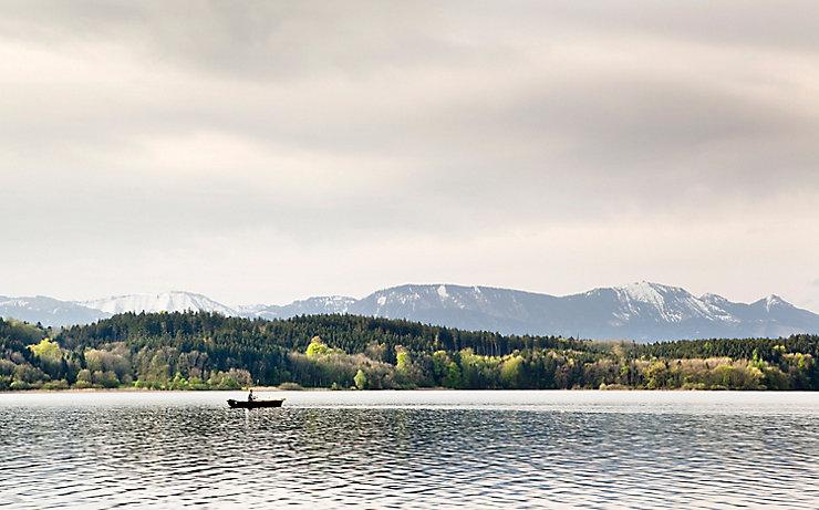 Das Landschaftsschutzgebiet des südlichen Simssees