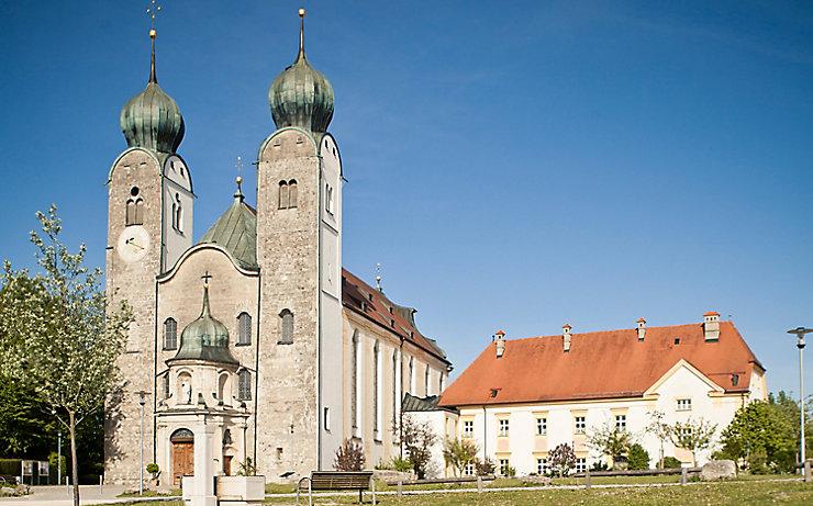 Das Kloster Baumburg an der Alz