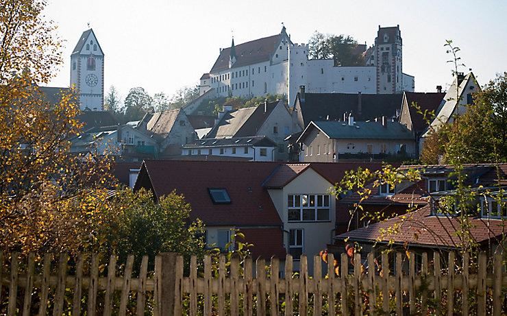 Das Schloss Füssen