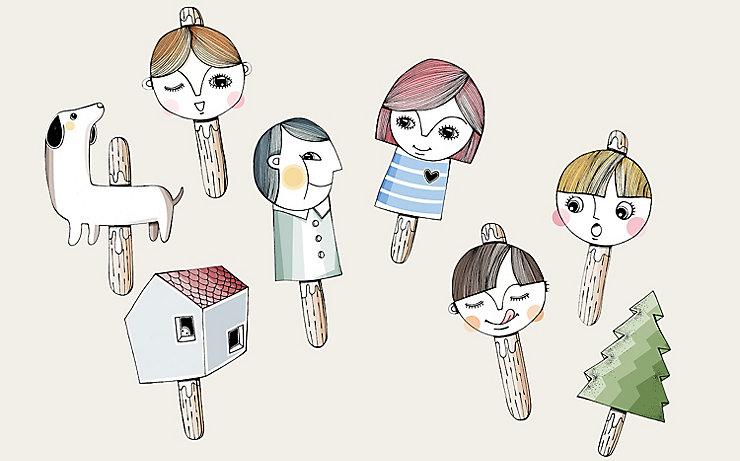 Putzige Puppen