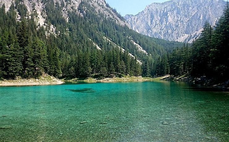 Der Grüne See in Tragöß
