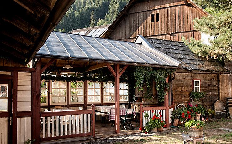 """Der Kaiserschmarrn im Gasthof """"Zur schönen Aussicht"""" soll schon viele Wanderer süchtig gemacht haben."""