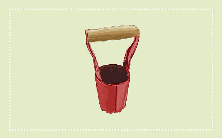 Gartenwerkzeug: Der Hohlpflanzer