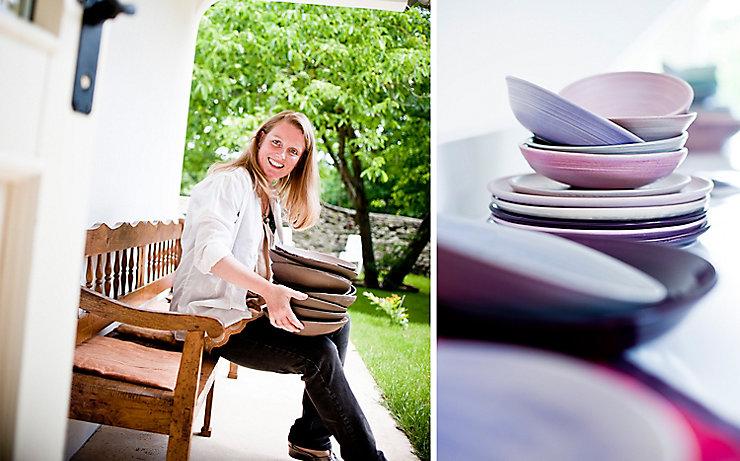 Petra Lindenbauer und ihre Keramik