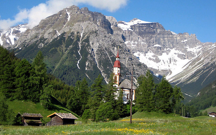 Von Obernberg nach Innerpflersch-St. Anton am Romedius Pilgerweg auf Etappe 4.