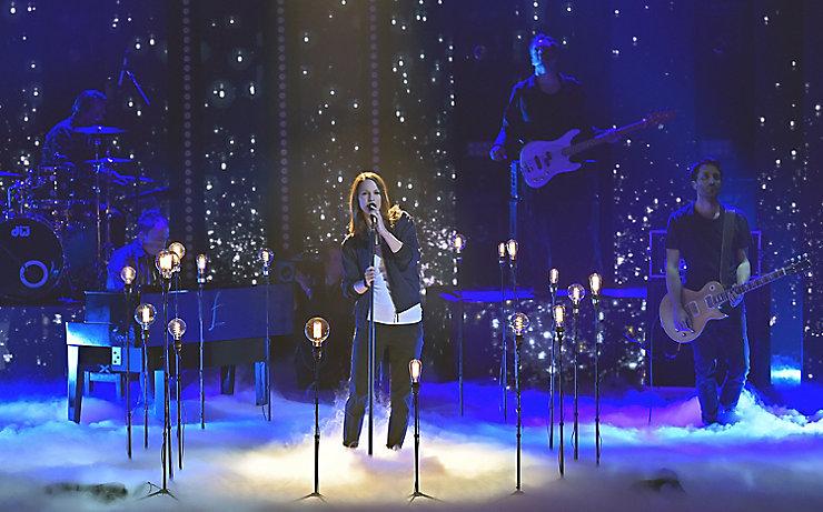 Christina Stürmer bei den Amadeus Music Awards