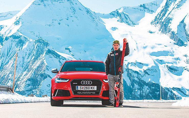 Garanten für Erfolg: Atomic, Audi und Marcel Hirscher.
