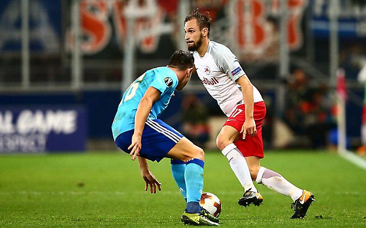 Andreas Ulmer und Red Bull Salzburg sorgten bereits für viele Punkte in Europa.