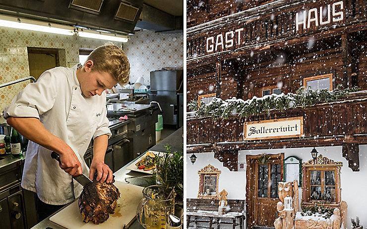 Küchenchef Stefan Moser im Sollererwirt