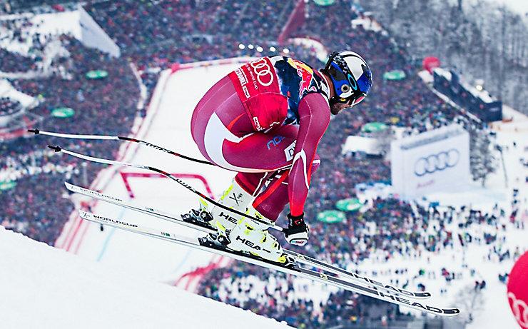 Mit einmal Olympia-Gold, fünf WM-Titeln, zwei Siegen im Gesamt-Weltcup sowie 34 Weltcup-Erfolgen ist Aksel Lund Svindal schon jetzt einer der besten Skifahrer aller Zeiten.
