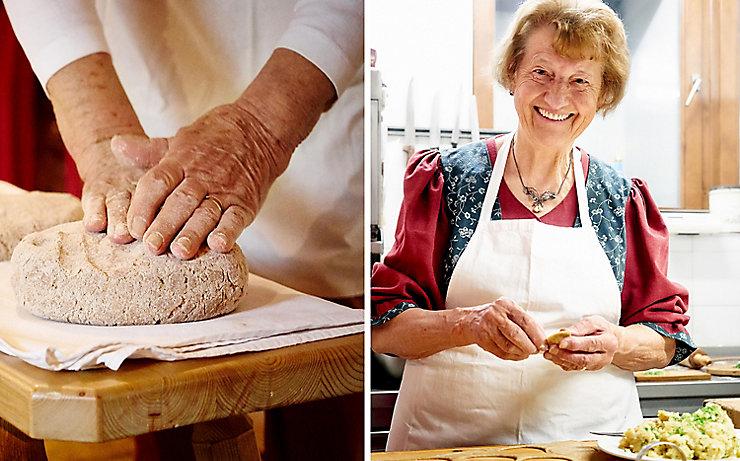Beim Wanderniki gibt es das gute Lesachtaler Brot