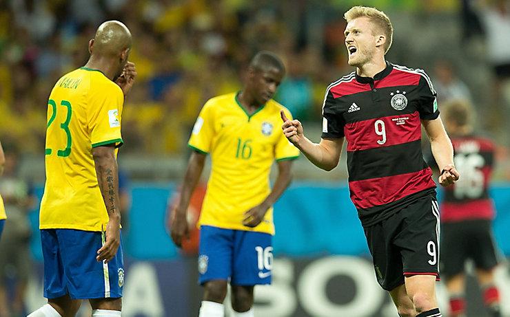 Deutschland jubelt, Brasilien ist fassungslos.