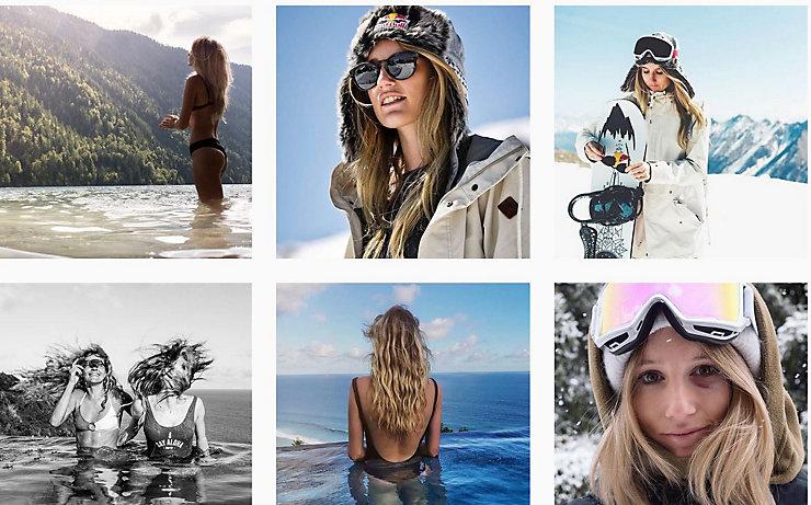 Auf Instagram zeigt Anna Gasser gerne verschiedene Facetten ihres Lebens.