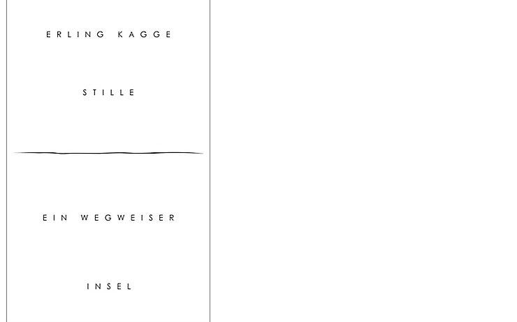Buchcover Stille - Ein Wegweiser