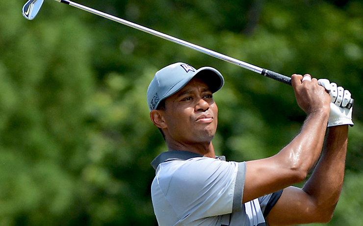 Tiger Woods und sein unnachahmlicher Schwung.