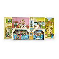 Das Biedermeier-Spielzeughaus
