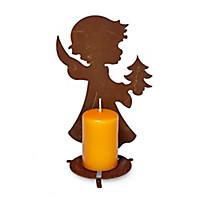 Licht-Engel mit Tannenbaum