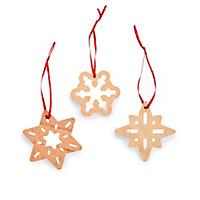Weihnachtsschmuck Schneesterne