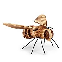 Garten-Biene aus Fichtenholz