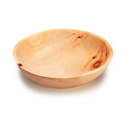 Schüssel aus edlem Zirbenholz