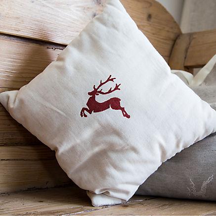 Ausseer Zirbenkissen Hirsch