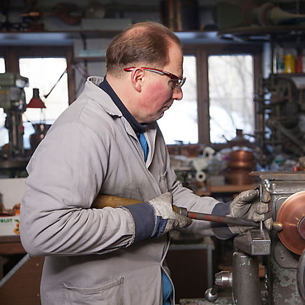Räucherpfanne aus Kupfer