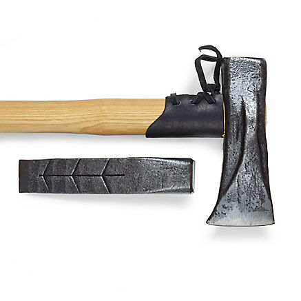 Massiver Spalthammer aus Stahl