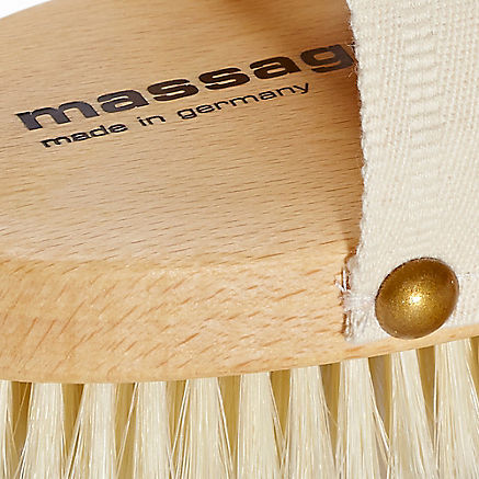 Massagebürste aus Buchenholz