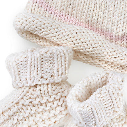 Strickset Baby Rosa
