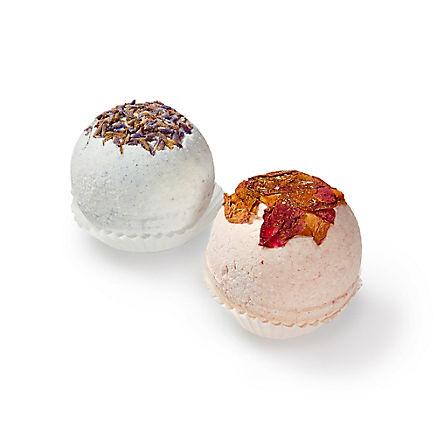 Badekugeln Rose & Lavendel