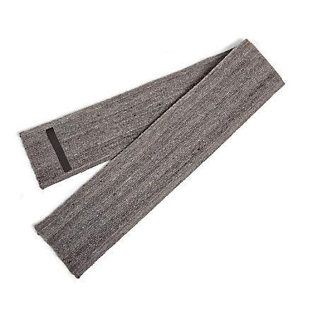 Schafwoll-Bankauflage grau