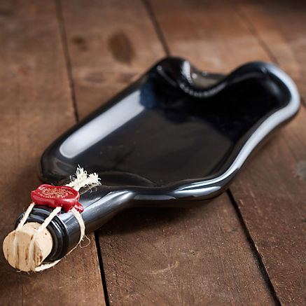 Weinflaschen-Schale