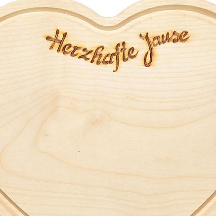 Herz-Jausenbrett