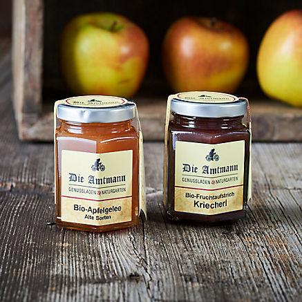 Kriecherl & Apfel Aufstriche