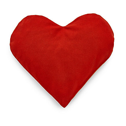 Herzkissen mit Zirbe