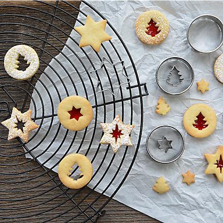 Ausstecher Linzer Kekse