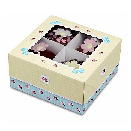 Kuchenboxen-Set aus Karton