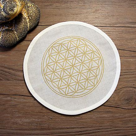 Brotdosen-Einlegetuch rund