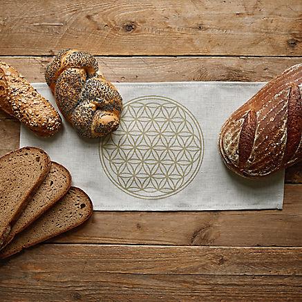 Brotdosen-Einlegetuch eckig