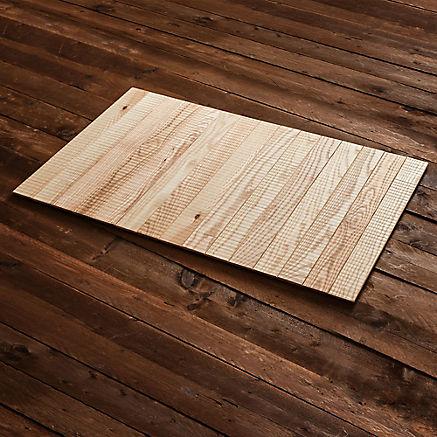Holzteppich fürs Bad